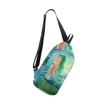 Amazon.com: SLHFPX - Bolso bandolera para hombre, diseño de ...
