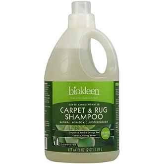 2 Packs of Biokleen Carpet And Rug Shampoo - 64 Fl Oz