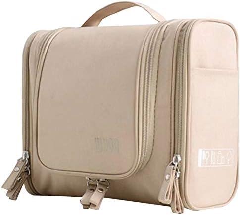 G-rf 旅行便利グッズ バッグ 防水収納袋/化粧品袋/アップは、旅行のための整理(緑)を作ります 保管 整理 (Color : Khaki)