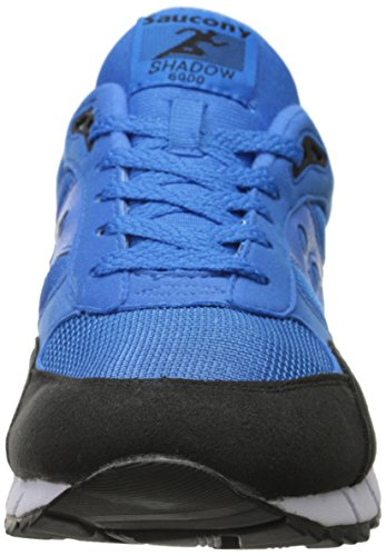 Saucony Shadow 6000 Synthétique Baskets, Bleu, 43