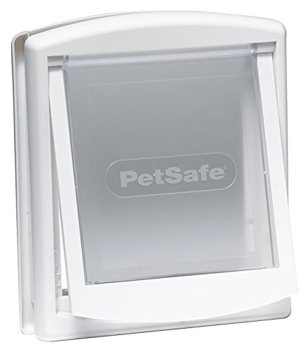 (Kerbl Petsafe Cat Door Staywell 715, White)