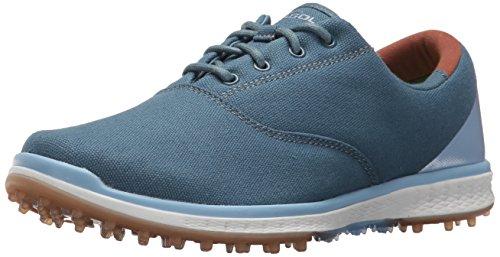 Skechers Performance Women's Go Golf Elite Canvas Golf Shoe,Navy/Blue,9.5 M US