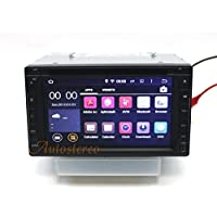 Autostereo Android 5.1.1 173x98mm Android Two Din Car Radio Head Unit Universal In Dash Car Stereo GPS Navigation Satnav Car Multimedia Audio DVD Player With GPS Navi Quad Core SWC DVR OBD2 DAB+