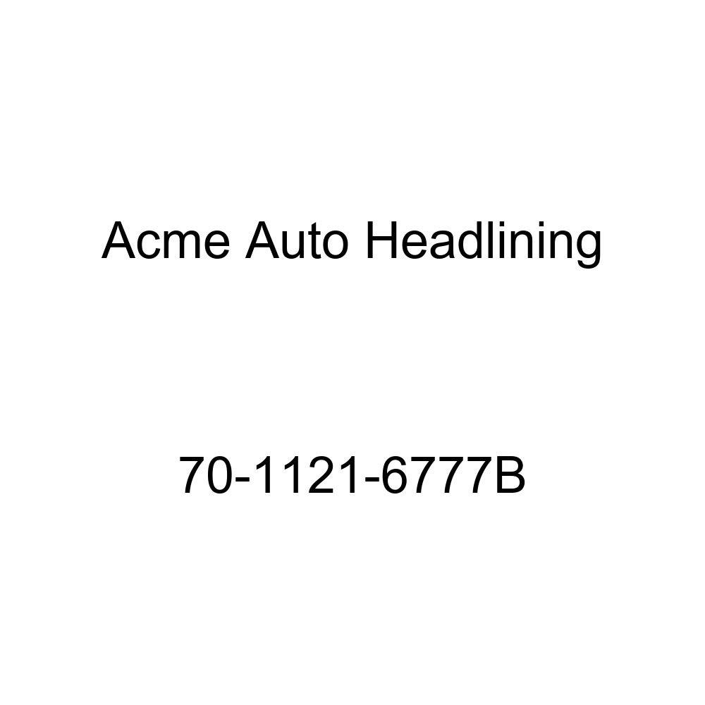 1970 Buick GS, GS 455 and Skylark 2 Door Hardtop Acme Auto Headlining 70-1121-6777B Red Replacement Headliner