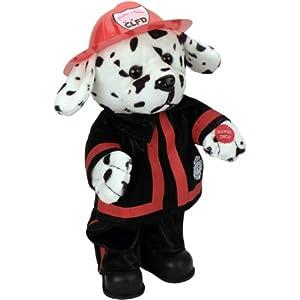 "Chantilly Lane 14"" Blaze Dalmatian Fireman Sings ""Ring of Fire"" - 411DfHchv4L - Chantilly Lane Animated Blaze Dalmatian Fireman"