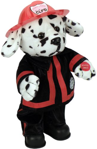 Chantilly Lane Animated Blaze Dalmatian Fireman from Chantilly Lane