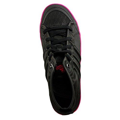 Adidas Vulc Mid K Freizeitschuhe, schwarz
