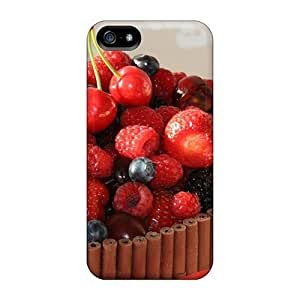 Anti-scratch And Shatterproof Fruit Berries Food Phone Case For Iphone 5/5s/ High Quality Tpu Case