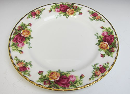 Old China Plates - Royal Albert China OLD COUNTRY ROSES Salad Plate EXCELLENT
