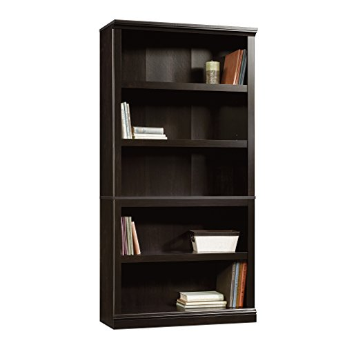 Sauder 414235 5 Shelf Bookcase, L: 35.28