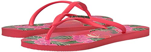 Pictures of Havaianas Women's Slim Floral Sandal Coral 9 M US 4