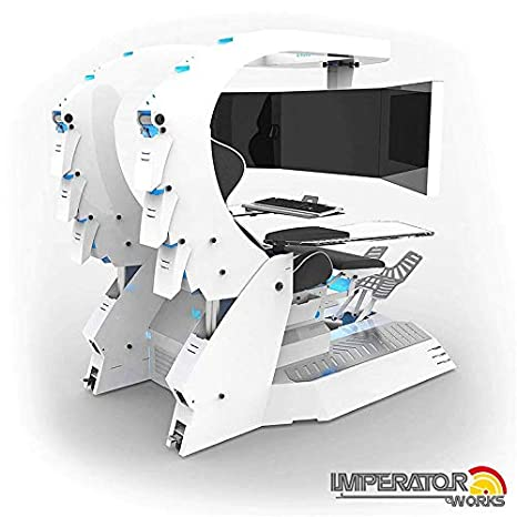 Astonishing Amazon Com Iwj20 Imperator Works Gaming Chair Computer Theyellowbook Wood Chair Design Ideas Theyellowbookinfo