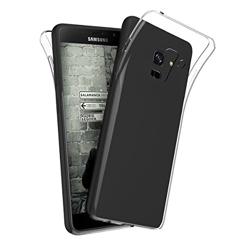 Marely Hudson Transparent Soft Back Case Cover For Samsung Galaxy A8+ / A8 Plus 2018