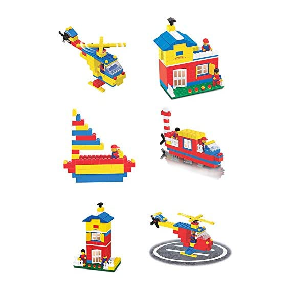 EVAN Expert Building Blocks for Kids,Bricks Blocks 180+ Pieces Blocks. let Your Kid Make Everything he/she Dreams of