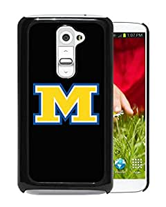 NCAA McNeese State Cowboys 07 Black LG G2 Protective Phone Cover Case