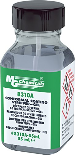 MG Chemicals Conformal Coating Stripper - Gel, 2 fl. oz Brush Cap Container by MG Chemicals