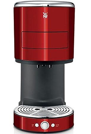 WMF Lono Independiente Máquina espresso 0.8L 2tazas Rojo ...