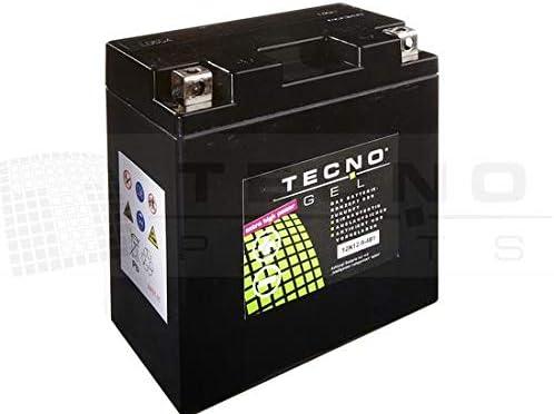Tecno Gel Motorcycle Battery Yb9 B 12n9 4b1 12 V Gel Battery 9ah Din 50914 135 X 75 X 139 Mm Including Deposit Auto