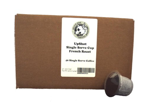 Death Valley French Roast Coffee, 40 Count, For Keurig style brewers