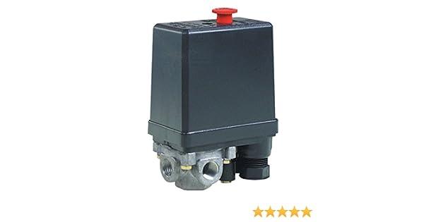 Fiac - Presostato con válvula de arranque incorporada para compresores, mod.871: Amazon.es: Bricolaje y herramientas