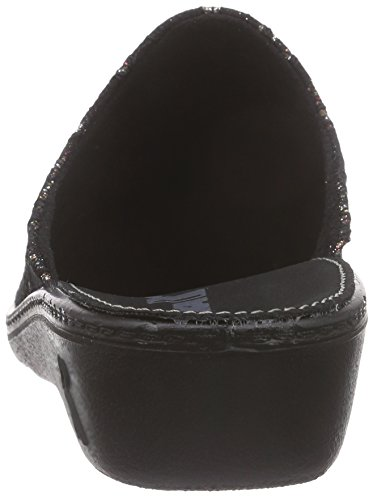Romilastic Negro Mujer Romika 396 Zuecos zp1qRdR