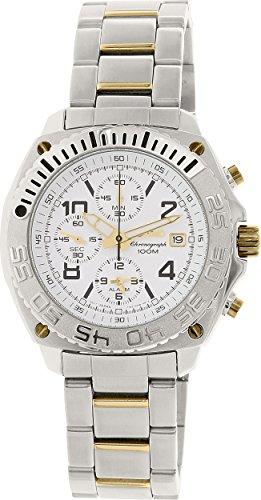 Seiko Men's SNA619 Alarm Chronograph Watch