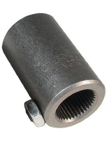 Borgeson 313434 3/4-36 Splined Through Steering Coupler (Coupler Through)