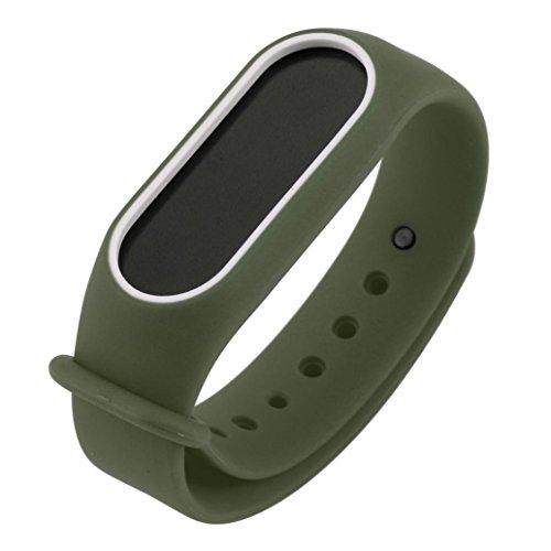 Remplacement de gel de silice Bracelet pour Xiaomi Mi Band 2Bracelet (170–220mm)