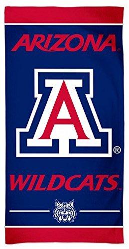 NCAA Arizona Wildcats Premium Beach Towel, 30 x 60 inches, ()