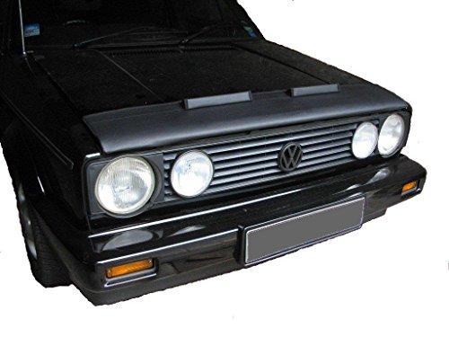 HOOD BRA Front End Nose Mask for VW Volkswagen Golf 1 Mk1 Cabriolet Convertible Bonnet Bra STONEGUARD PROTECTOR TUNING ()