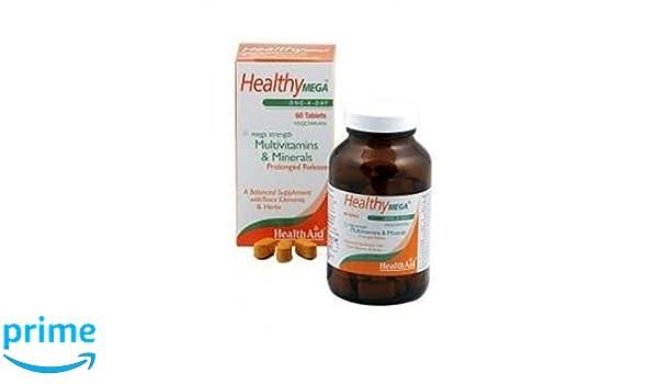 Healthy Mega 30 comprimidos de Health Aid: Amazon.es: Salud y cuidado personal
