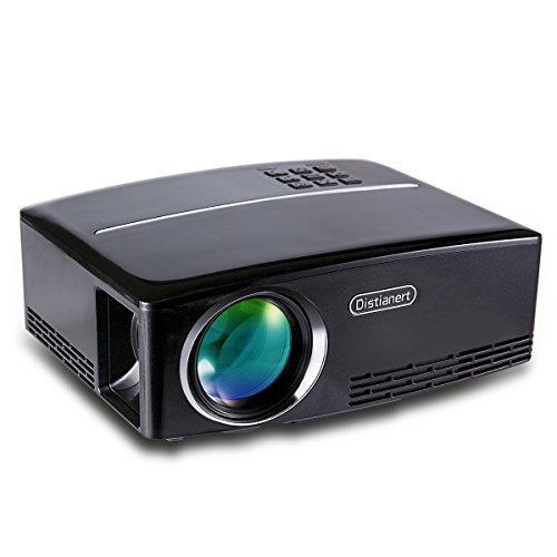 Portable Projector, Distianert Video Projector Home ...