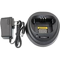 SUNDELY Ni-MH Ni-CD Li-ion Battery Rapid Quick Charger for Motorola Radios NNTN4496, NNTN4496AR, NNTN4851, NNTN4851A, NNTN4851AR, NNTN4851R