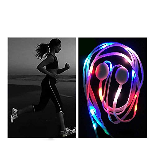 Shoelaces For Christmas.Easydecor Led Nylon Shoelaces Lights Up 3 Modes Battery Lights Shoestrings For Christmas Party Dancing Hip Pop Running Decorations 1 Pair
