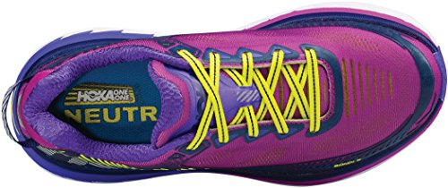 Women's Zapatillas 5 Hoka Purple Cactus Citrus Para Bondi SS17 Correr UqPWS7f