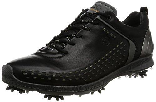 ECCO Men's Biom G2 Golf Shoe-M, Black/Transparent, 43 EU/9-9