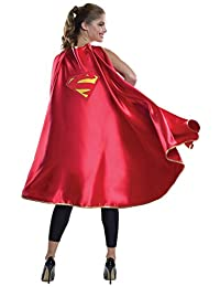 Rubies Costume Women's DC Superheroes Deluxe Supergirl Cape