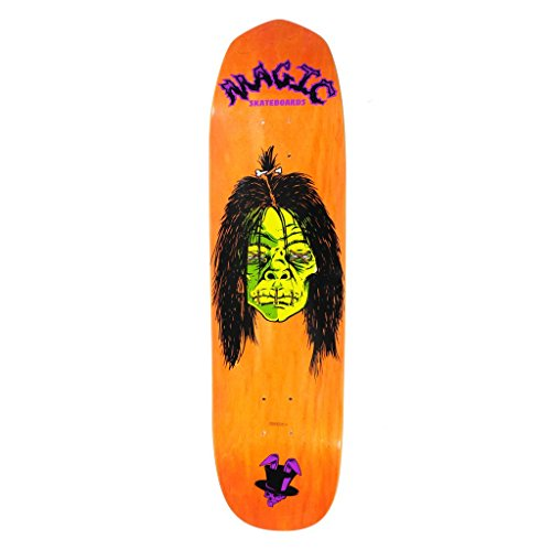 "Magic Skateboards Voodoo II Shape Deck, 8.5"" x 32.75"", Assorted Color"