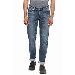 Numero Uno Mens Pocket Rinse Wash Jeans