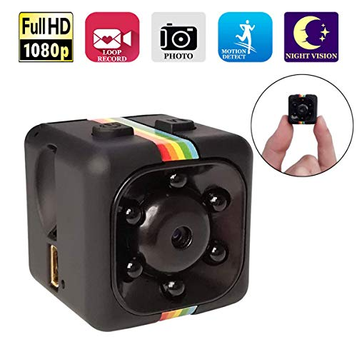 Mini WiFi Spy Camera Wireless Hidden Cameras Nanny Cams WOCAO+Z1