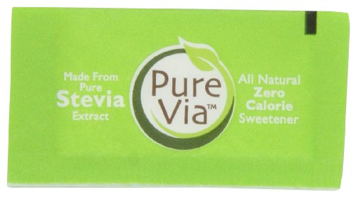 PureVia All Natural Zero Calorie Sweetener - 1000 Packets by Pure Via