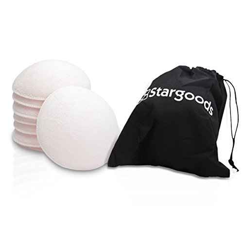 Stargoods Cloth Nursing Pads - Reusable Breast Pads (Set of 8) + Carry Bag