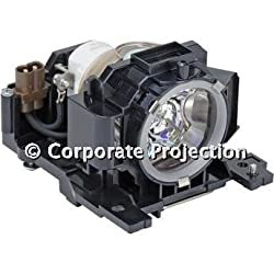 Genuine Corporate Projection Dt00891 Lamp Housing For Hitachi Projectors 180 Day Warranty!!