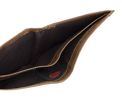 Strellson Blake Monedero piel 10 cm cognac Marrón