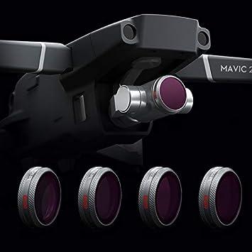8//16//32 PL Objektiv Filterkit für DJI Mavic 2 Pro Drone Kamera ND4