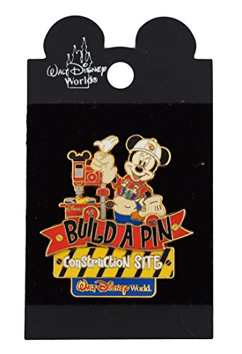 WDW Trading Pin - Build A Pin Construction Site