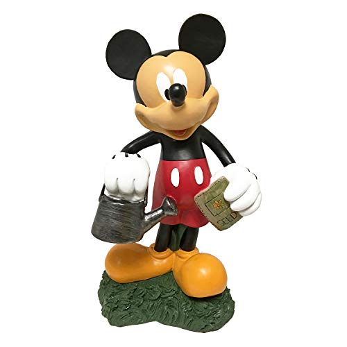 (The Galway Company Mickey Mouse Watering Can, Large 12.5 Inches Tall, Hand-Painted, Official Disney Licensed)