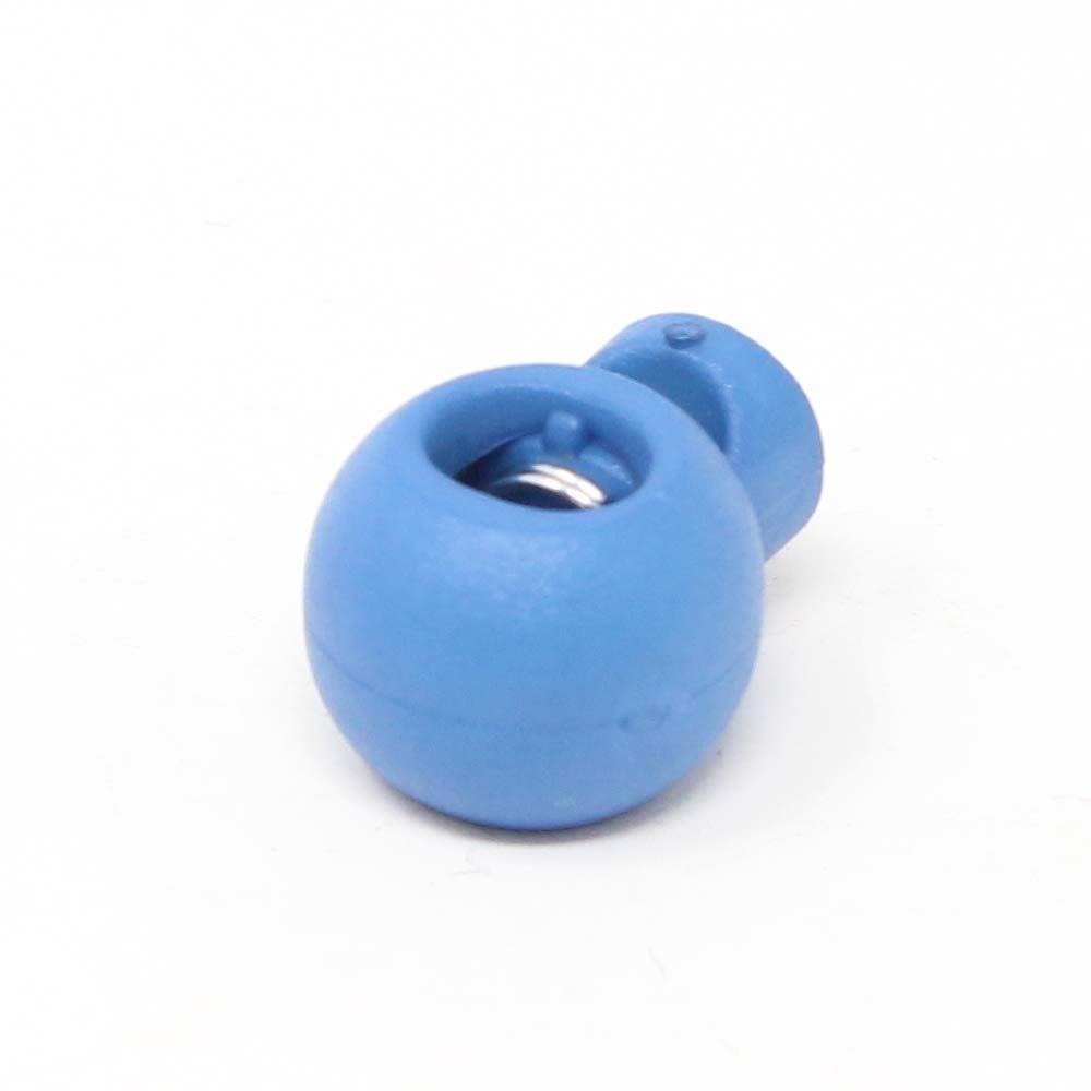 15x20 mm 10 St/ück Kordelstopper verschiedene Farben zur Auswahl! Blau BIG-SAM