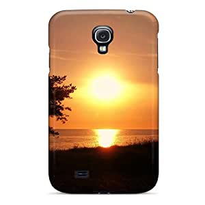 Premium Protection Sunset Singapore Case Cover For Galaxy S4- Retail Packaging