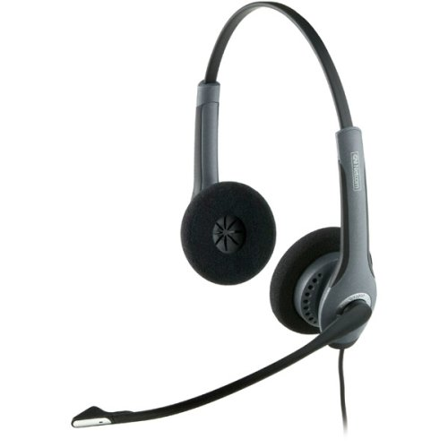 Jabra GN2025 Duo Noise Cancelling Corded Headset for Deskphone